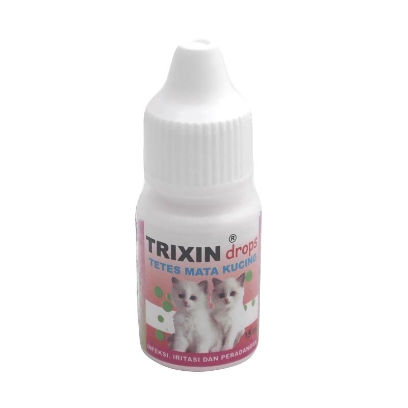 Trixin Cat 15 ml Original - Obat Tetes Mata Kucing