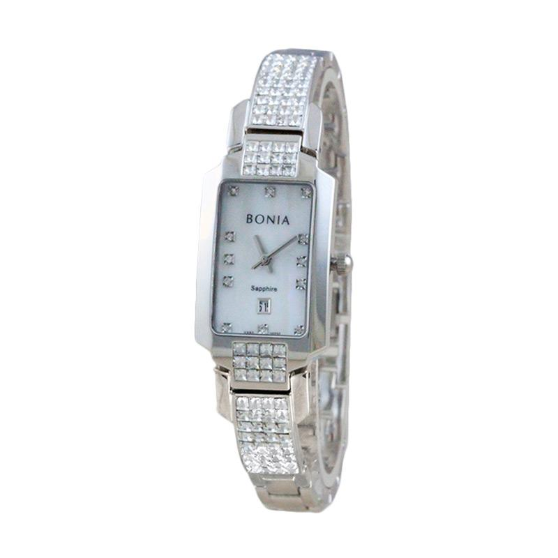 Bonia BN10237-2357 Women Silver Stainless Steel