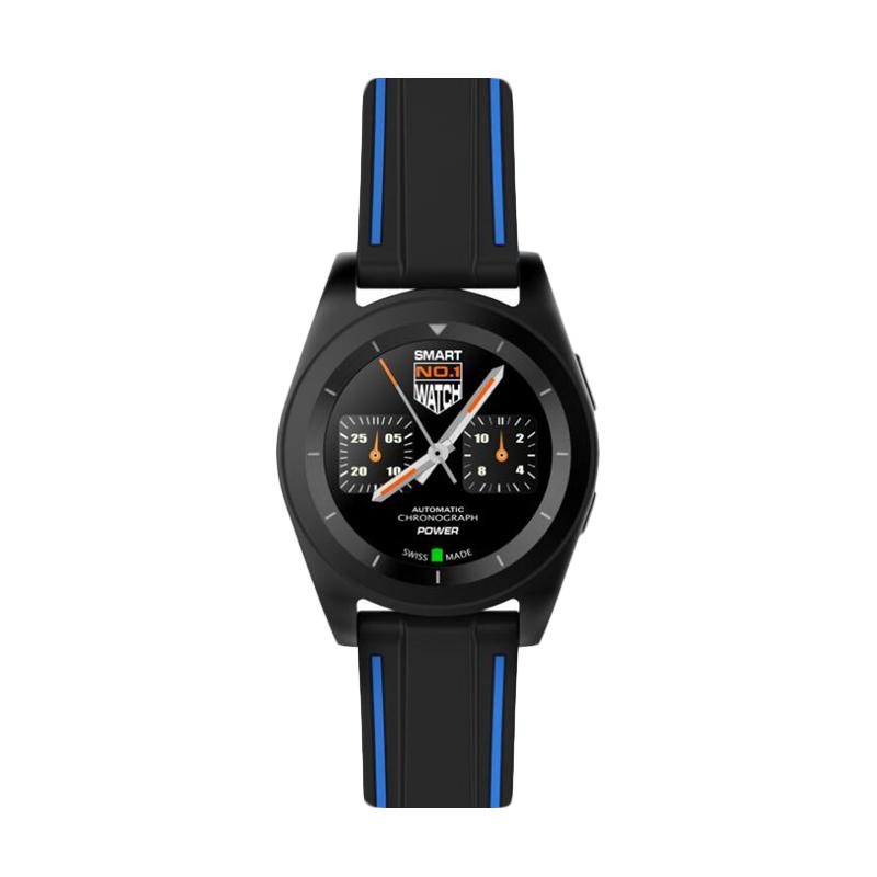 harga No.1 G6 Heart Rate Monitor SmartWatch - Black [Bluetooth 4.0] Blibli.com