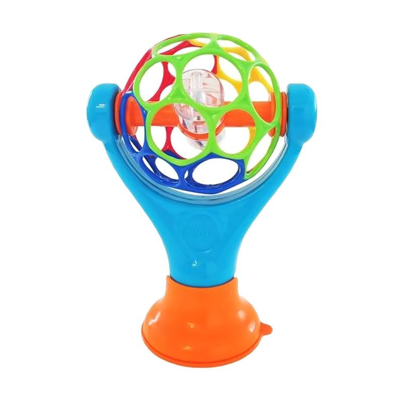 Oball Grip & Play Locking Suction Cup Mainan Anak - Blue