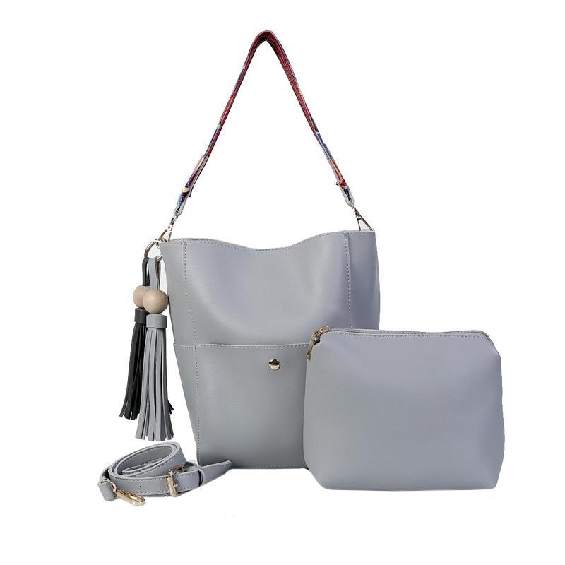 Ronaco Vanessa Tote Bag 2in1 Tas Wanita - Grey