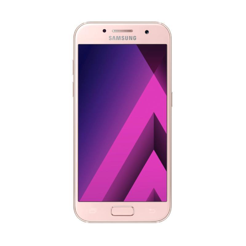Samsung Galaxy A5 SM-A520 Smartphone - Pink [32 GB/ 3 GB/ 2017 Edition] - 9286371 , 15444713 , 337_15444713 , 4875000 , Samsung-Galaxy-A5-SM-A520-Smartphone-Pink-32-GB-3-GB-2017-Edition-337_15444713 , blibli.com , Samsung Galaxy A5 SM-A520 Smartphone - Pink [32 GB/ 3 GB/ 2017 Edition]