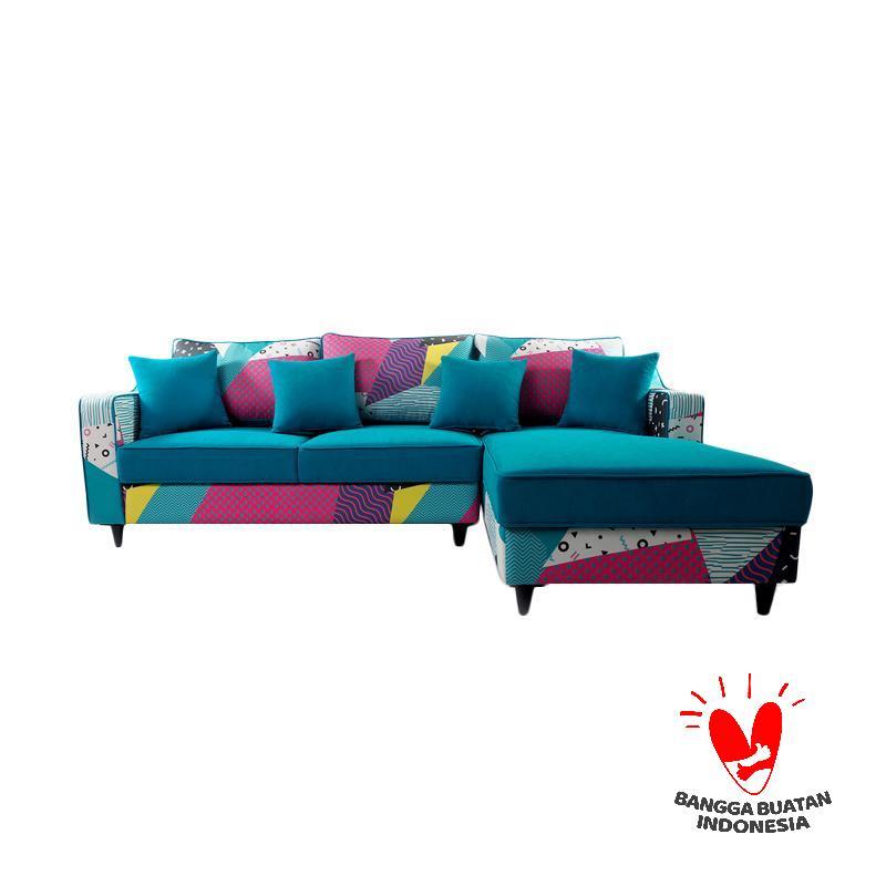 Antik Mebel Bluemingdale Sofa L - Multiple Color