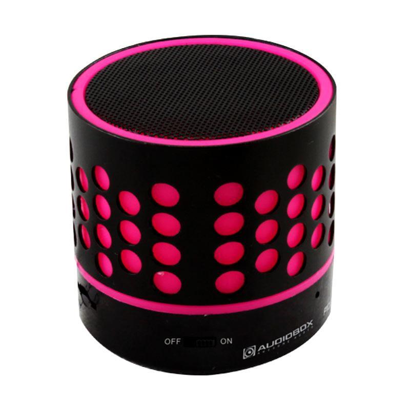 speakers pink. audiobox p1000 portable bluetooth speakers - pink