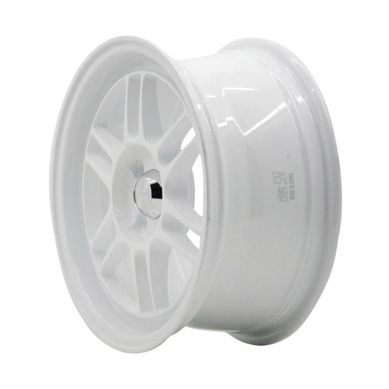 harga HSR Wheel RPF01 JD109 Ring 15x7 4x100 ET35 Velg Mobil - White Blibli.com