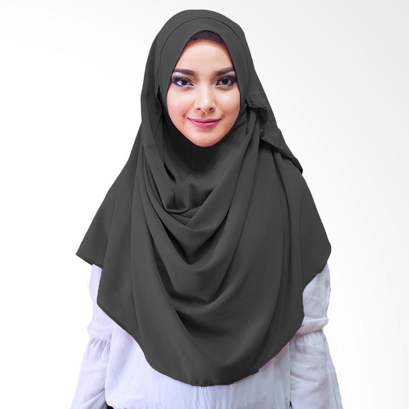 Milyarda Hijab Farrah Kerudung Instan - Hitam