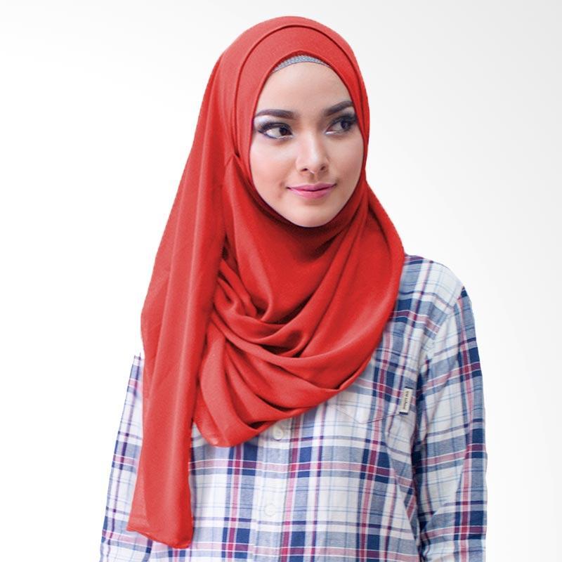 Milyarda Hijab Paloma Kerudung Instan - Merah