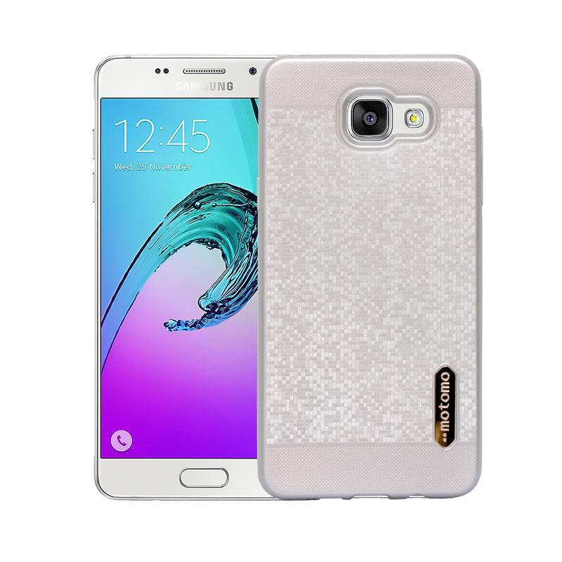 Motomo Softcase Casing for Samsung A5 2016 A510 - Silver