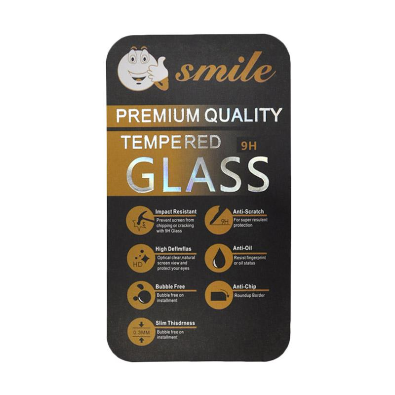 SMILE Tempered Glass Anti Gores Screen Protector for Blackberry Z3 - Clear