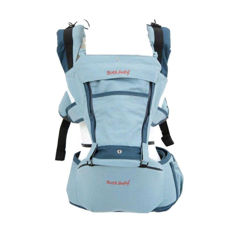 Both Baby Hipseat Carrier Gendongan Bayi - Blue Sky