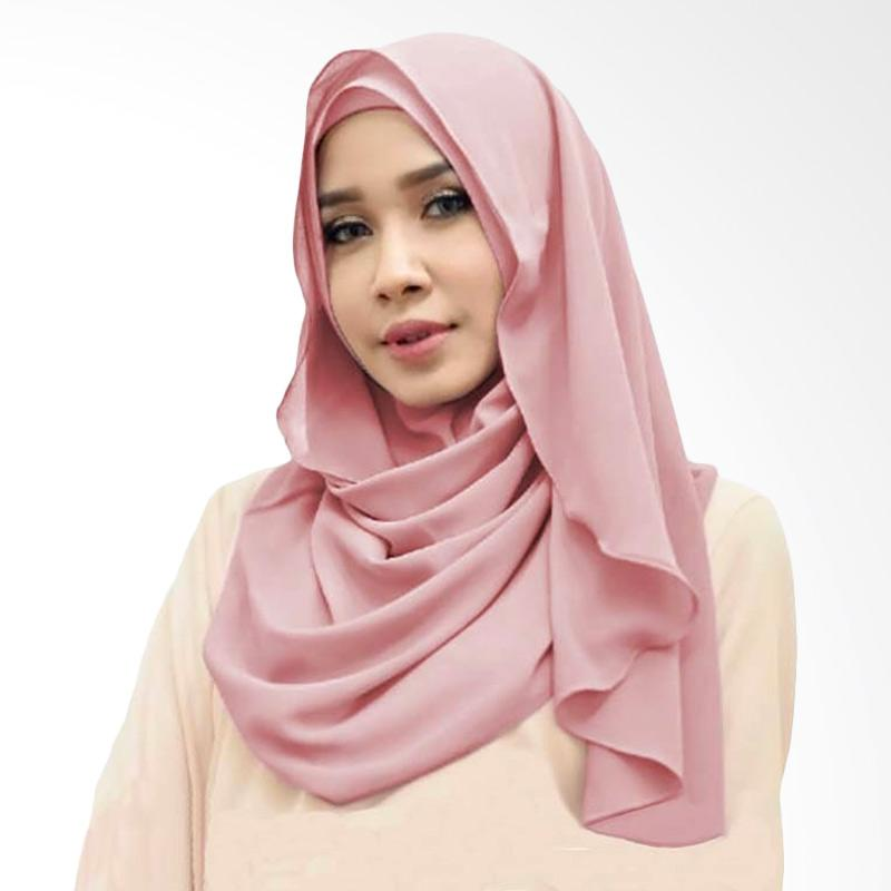 Kus Group Orchid Hijab Instant - Dusty Pink