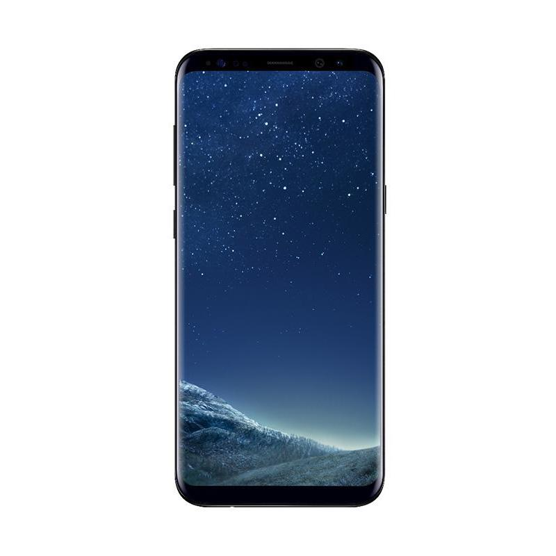 Samsung Galaxy S8 Plus Smartphone - Hitam [64 GB/4 GB]