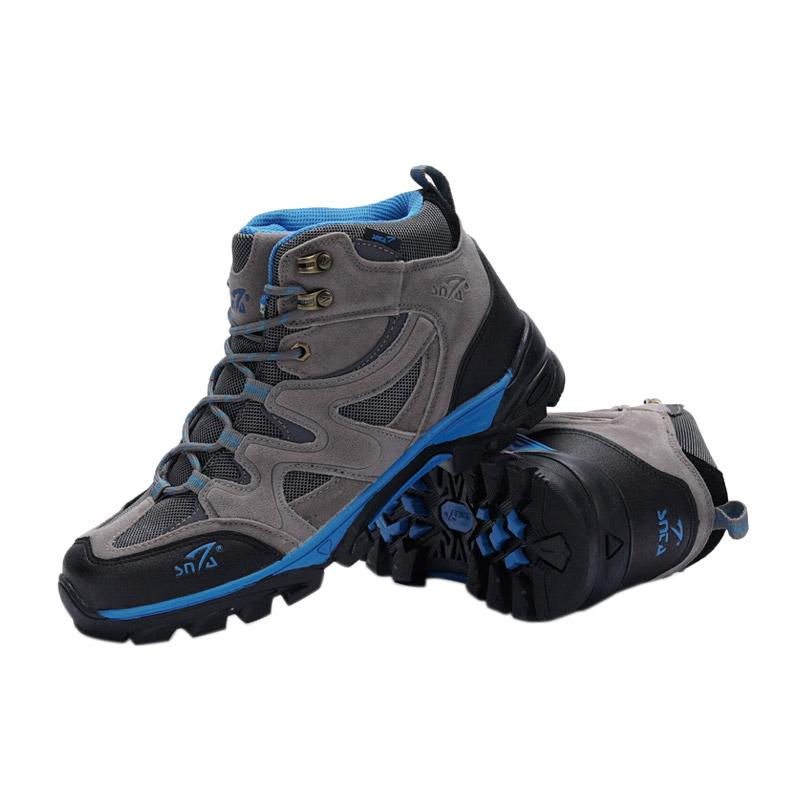 Snta Boots Sepatu Gunung - Grey Blue [491]
