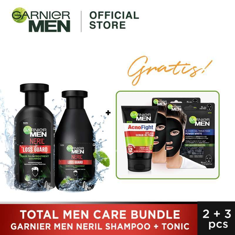 Garnier Total Men Care Bundle