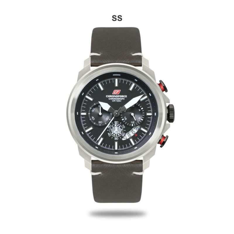 Chronoforce Jam Tangan Pria G 5316 Silver
