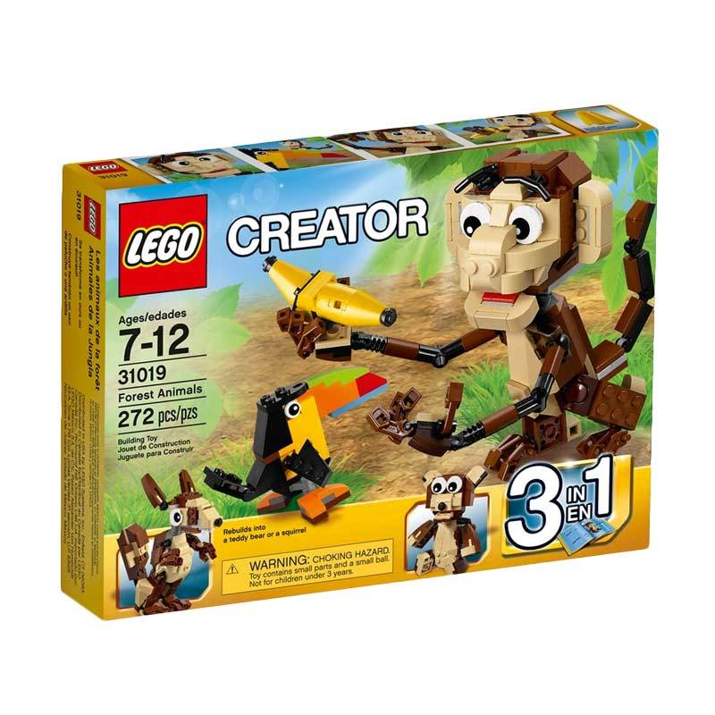LEGO 31019 Creator Forest Animals Blocks & Stacking Toys