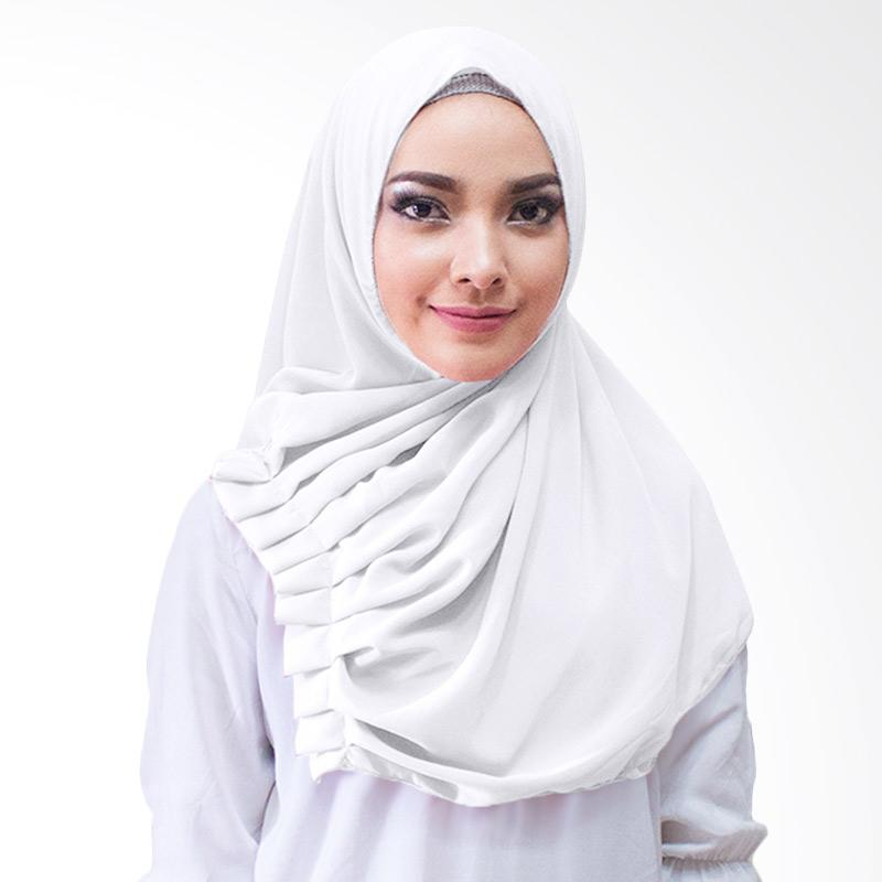 Milyarda Hijab Aliqa Kerudung Instan - putih