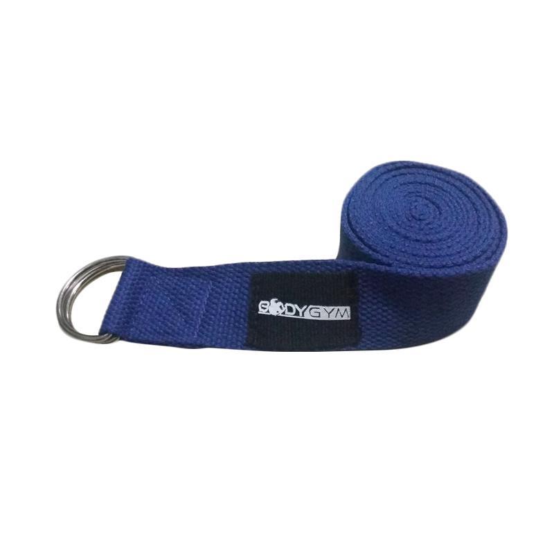 Body Gym Import Yoga Strap - Blue [3.8 x 180 cm]