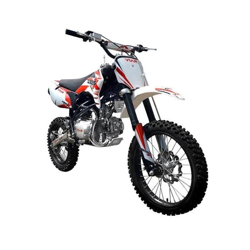 harga Viar Cross X 100MT Mini Trail Sepeda Motor Trail - Red [Area Regional Jawa Timur] Blibli.com