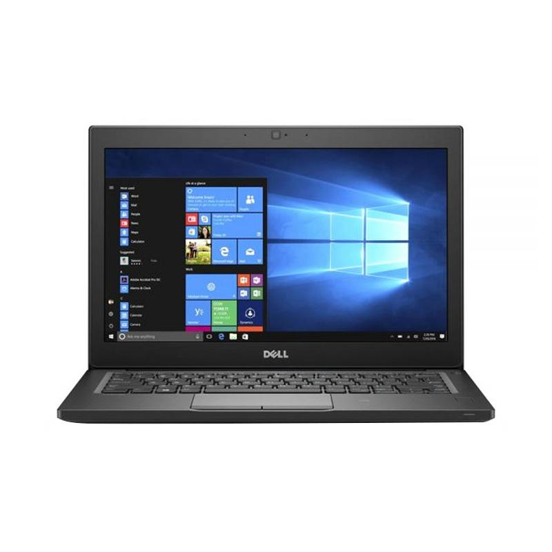 DELL Latitude 7280 Notebook - HItam [Ci7-7600U/ 8 GB/ 256 GB/ Intel HD/ Windows 10 Pro]