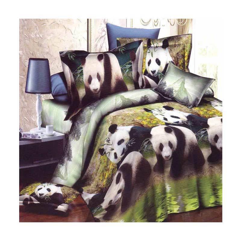 Rosewell Panda Microtex Disperse Set Sprei