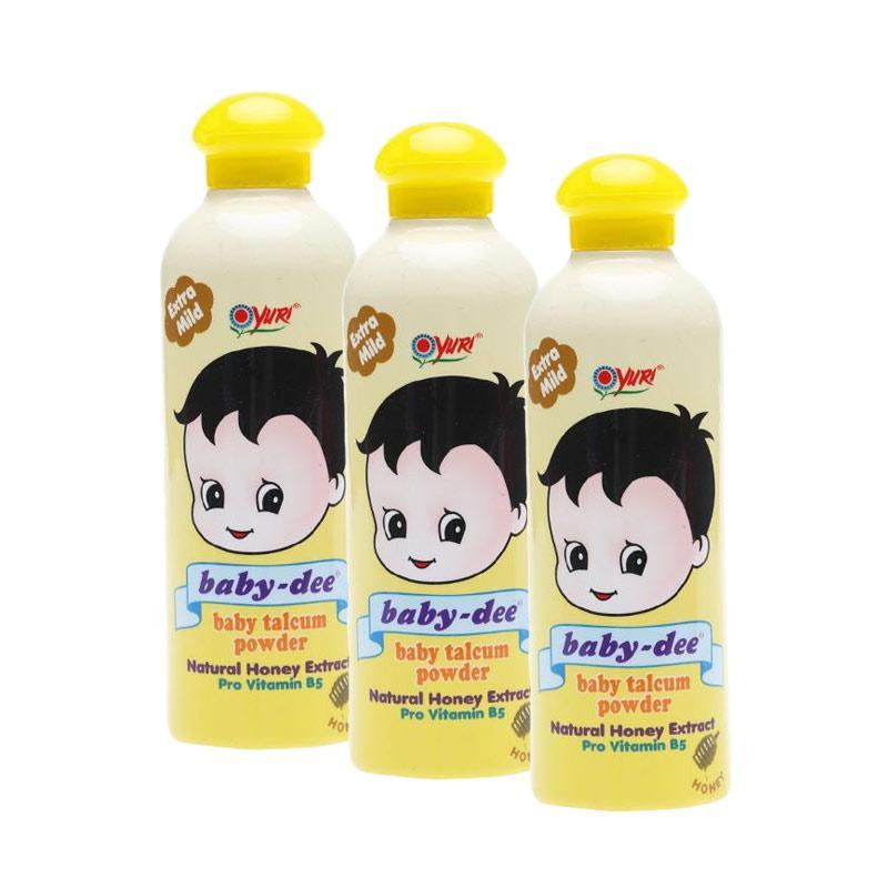 harga Yuri Baby Dee Honey Talc Powder Bedak Bayi [200 g/ Isi 3 pcs] Blibli.com
