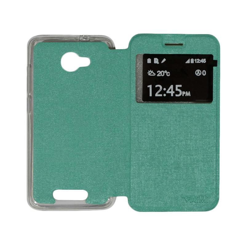 Aimi Flip Cover Casing for Smartfren Andromax B - Tosca