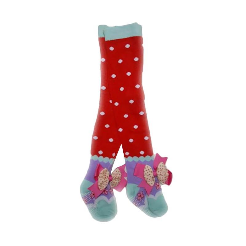 Chloe Babyshop Legging Ribbon Polkadot Red H