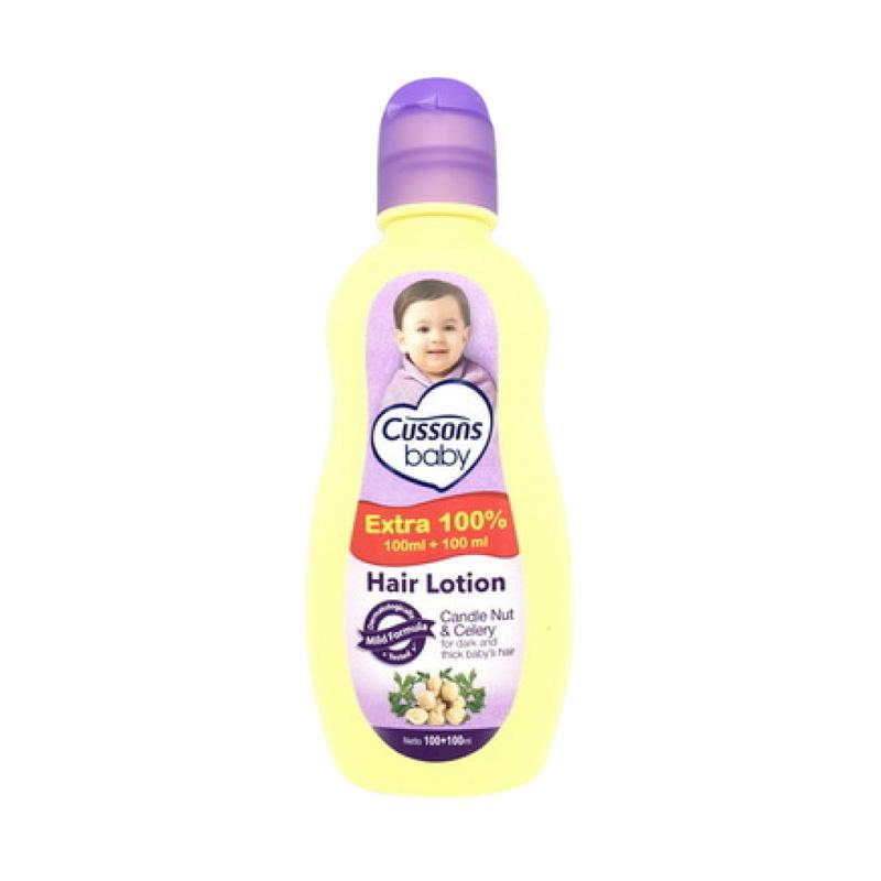 Cussons Baby Hair Lotion Candle Nut & Celery - 200ml