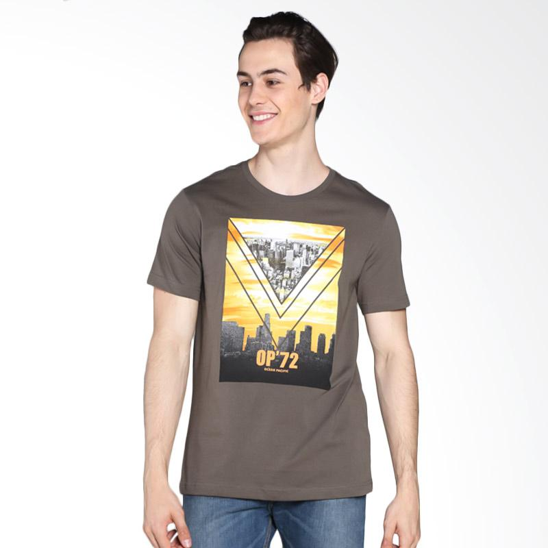Ocean Pacific 03MTY06566 Young Mens Tshirt - Olive