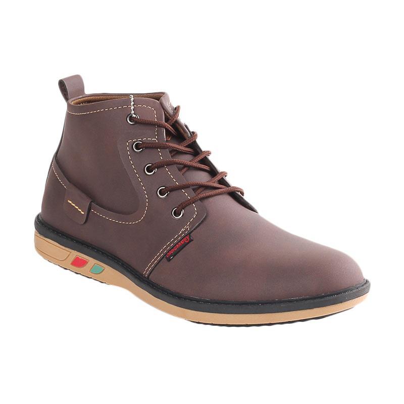 Blackkelly Elton John LSA 329 Sepatu Pria - Coklat