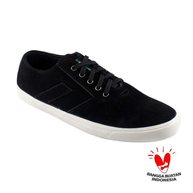 Dane and Dine New Arrow  Sneaker Sepatu Pria - Black