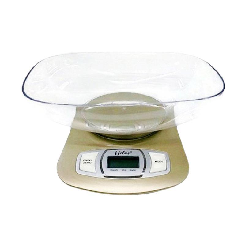 Heles HL-3650 Timbangan Digital - Putih Gold [5 kg]