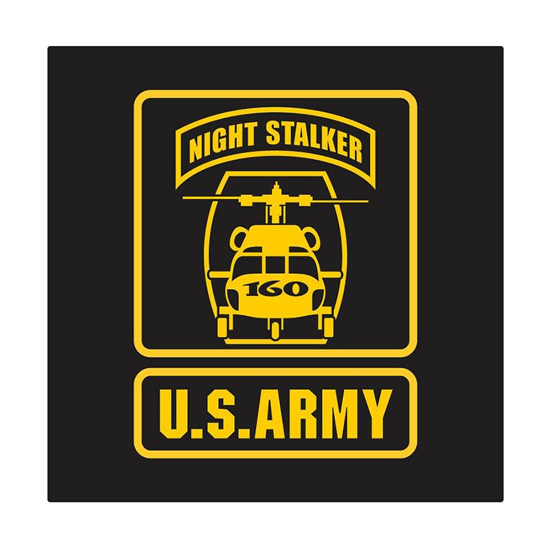 US Army 160th S.O.A.R Night Stalkers Cutting Sticker