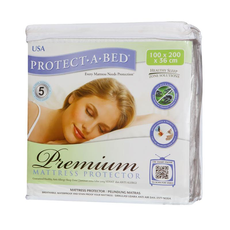 SLEEP CENTER Protect A Bed Premium Mattress Protector Diskon 50% + Up Grade Size