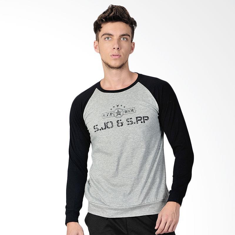 SJO & SIMPAPLY Christopher SPP DMN B Men's T-Shirt - Grey