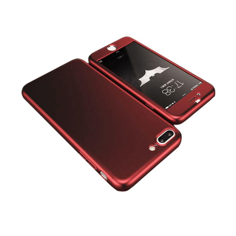 Tunedesign TPU 360 Casing for iPhone 7 Plus - Red