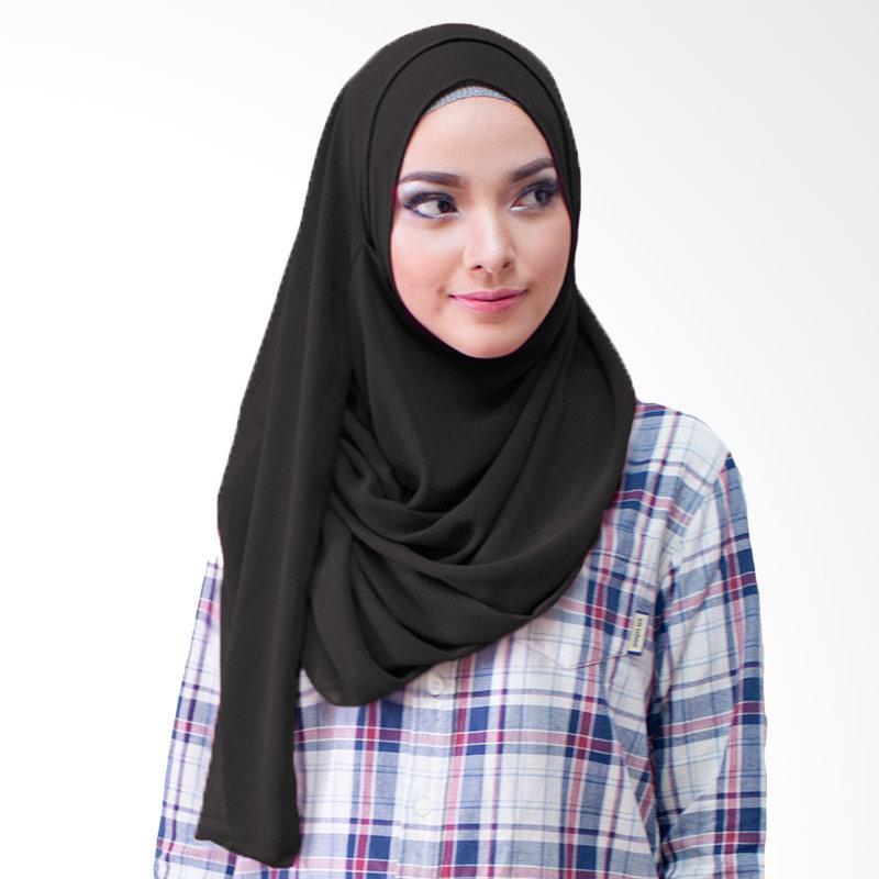 Milyarda Hijab Paloma Kerudung Instan - Hitam