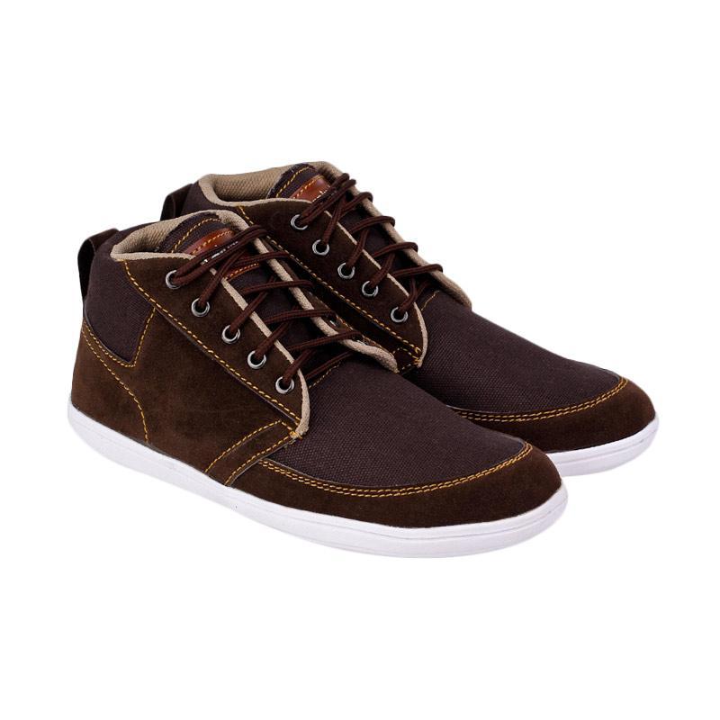 Raindoz RSD 010 Berdy Sepatu Sneakers Pria - Brown