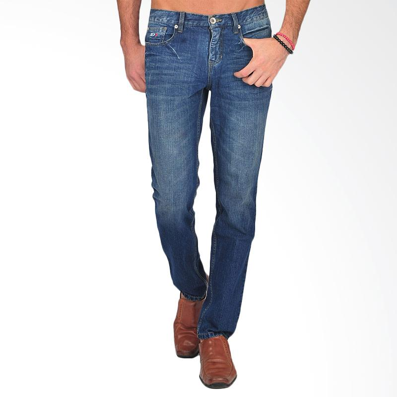 SIMPAPLY's Grustack Men's Jeans - Dark Blue