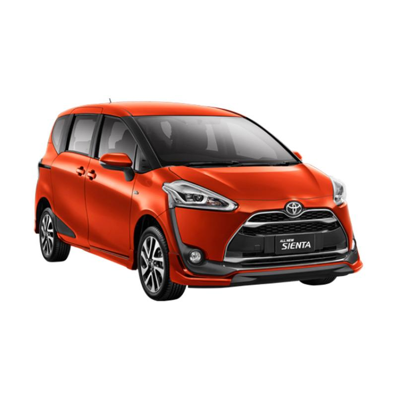 Toyota Sienta 1.5 E Black Trim Mobil - Orange Metallic