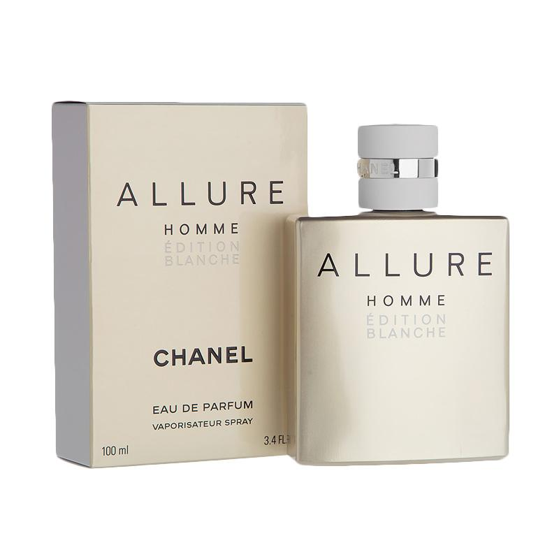 Chanel Allure Homme Blanche Edition EDT Parfum Pria [100 mL] Ori Tester Non Box