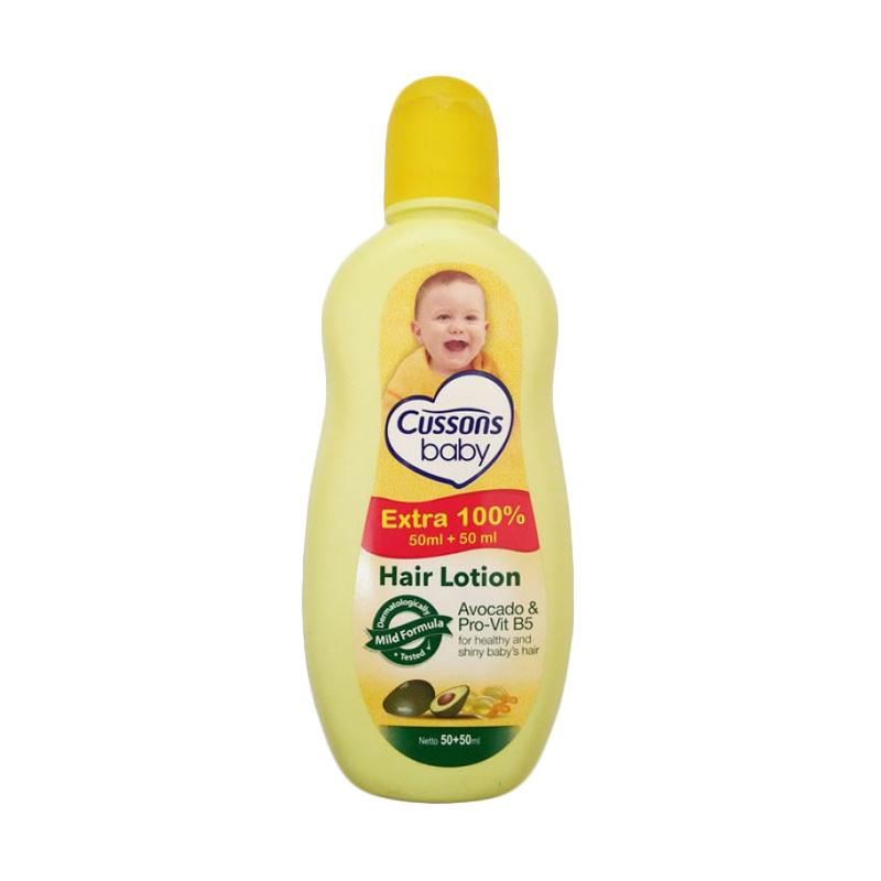 Cussons Baby Hair Lotion Avocado and Pro-Vit B Hair Lotion [50+50 mL]