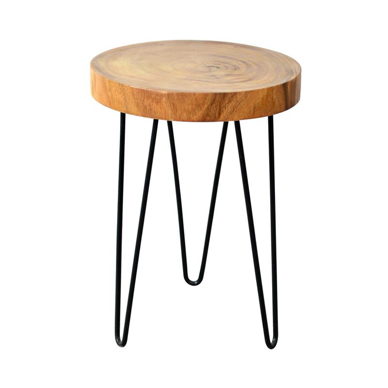 De Erniest Small Natura Freeform Side Table Meja