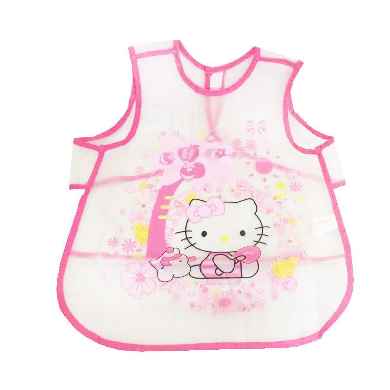 Hello Kitty Motif HKCcute Celemek Bayi - Pink
