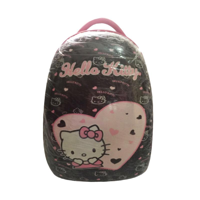Hello Kitty Motiif Love HK Koper - Black [16 Inch]