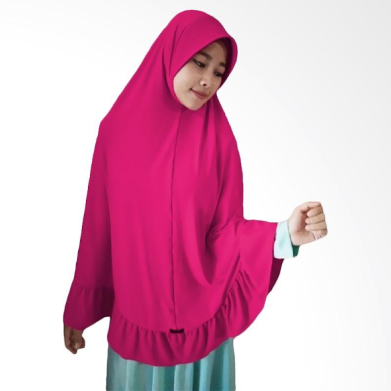 Milyarda Hijab Instant Bergo Pet Ihrom - Pink