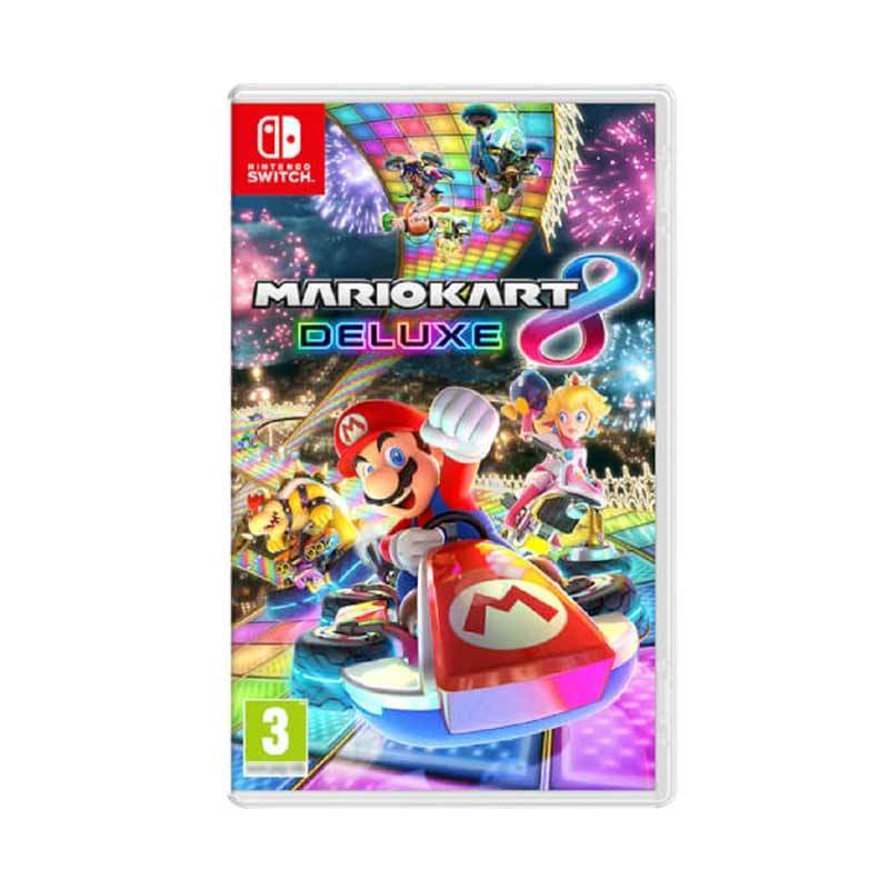 Nintendo Switch Game Mario Kart 8 Deluxe DVD Game