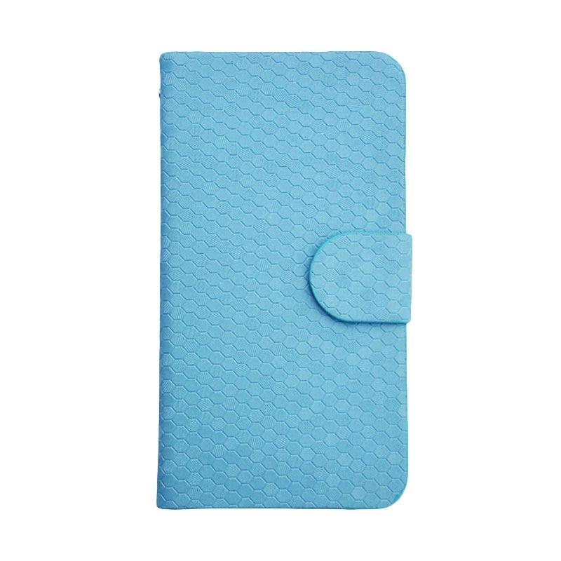 OEM Case Glitz Cover Casing for Motorola Moto E3 - Biru