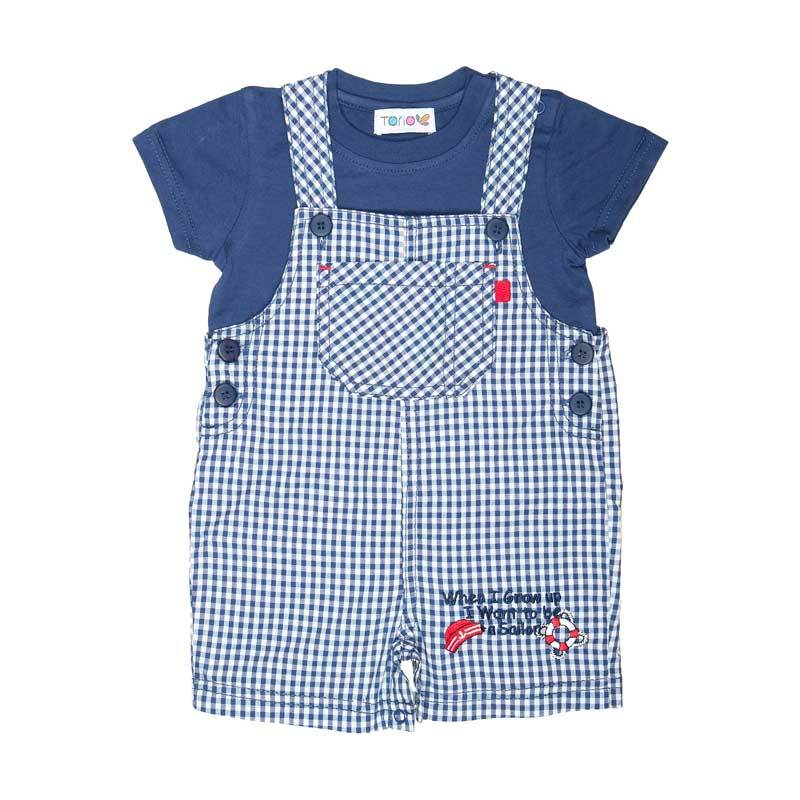 harga Torio 58-0429 Little Sailor Dream Overall Set Baju Anak Season 4 Blibli.com